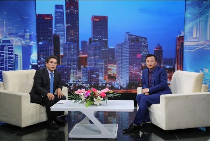 """""""巴马蓝氏瑶""""创始人安焕庭对话《信用中国》主持人水均益"""