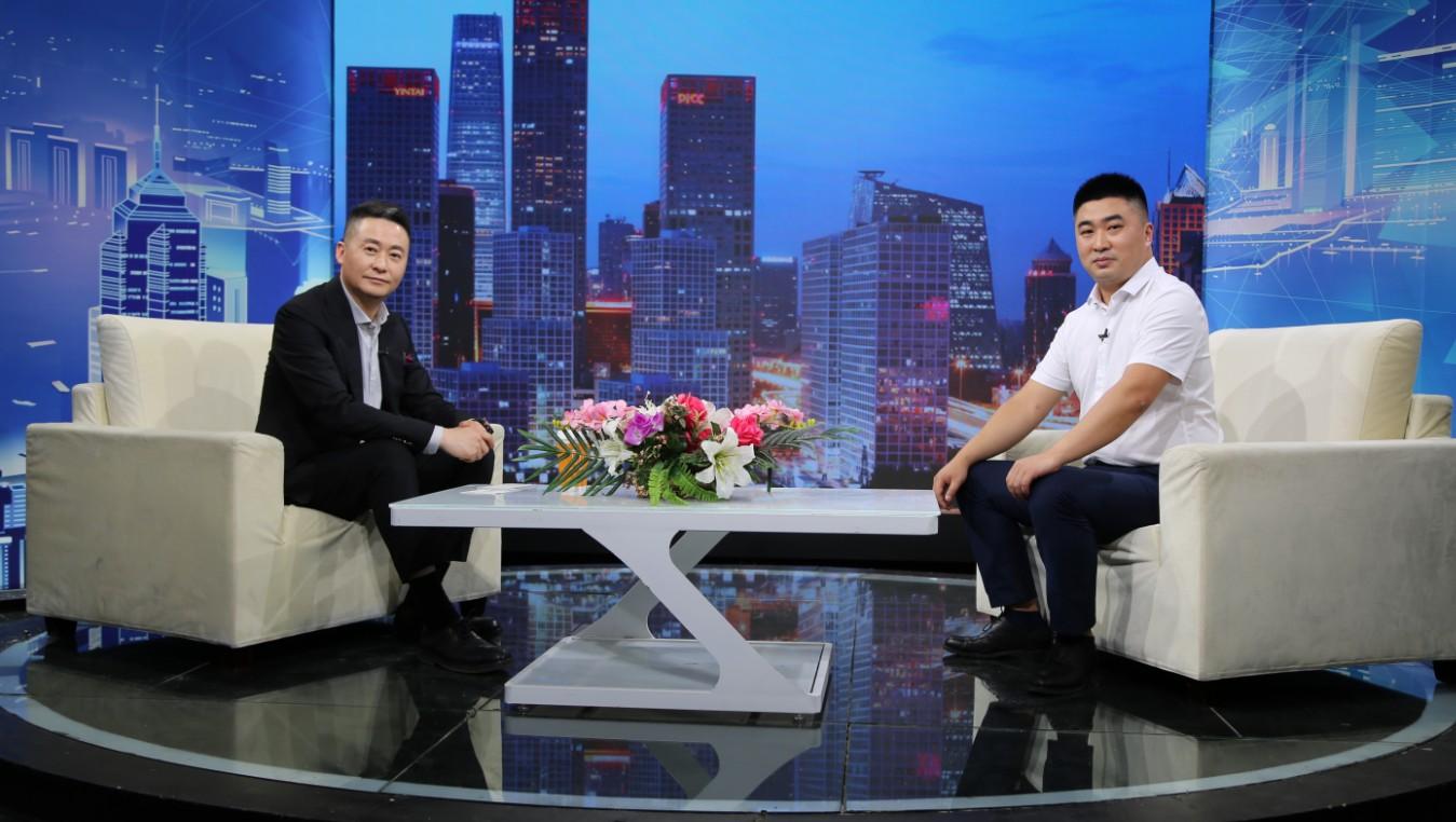 """""""北京天策金粮""""总经理张忠臣做客《信用中国》"""