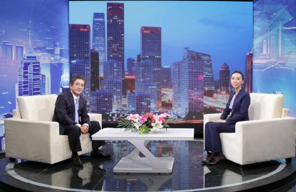 """""""海南健金隆农业""""董事长徐丽娜对话《信用中国》主持人水均益"""