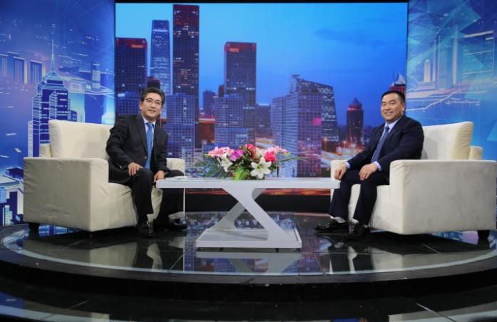 """""""重庆好哥们""""创始人郭小平对话《信用中国》主持人水均益"""