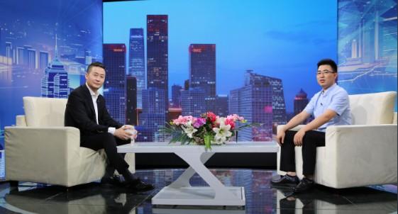 """""""瑞正保安""""总经理刘攀对话《信用中国》主持人姚雪松"""